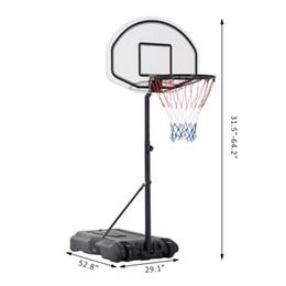 Wholesale Poolside Basketball Hoop System Pool Water Sport Game Play Outdoor Adjustable