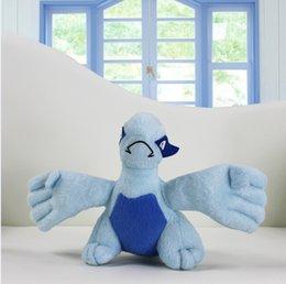 Wholesale Stuffed Lugia - Poke Pocket Monster Game Plush Toy Lugia plush toy 15cm Stuffed Animal Doll EMS Free shipping