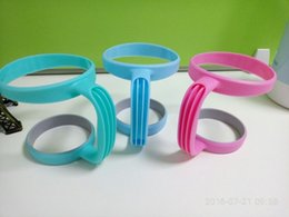 Wholesale New Plastic Handles for oz Rambler Tumbler Cups Holder For Young Yeti oz Stainless Steel Insulated Tumbler Mugs