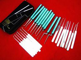 Haoshi 25pcs quick open stainless hook for door opener picklock tools lock pick