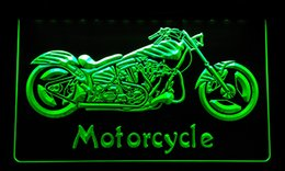 LS151-g Motorcycle Bike Sales Services Neon Light Sign