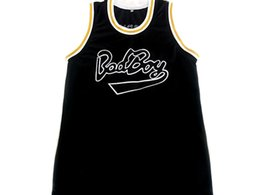 Wholesale Notorious BIG Biggie Smalls BAD Boy Basketball Jersey Throwback Stitched Jerseys Customized Any Name And Number