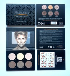 Wholesale in stock HOT NEW Aesthetica Cosmetics Contour and Highlighting Powder Foundation Palette Contouring Makeup Kit DHL GIFT
