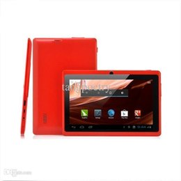 Wholesale Q88 mAh battery Allwinner A23 inch dual core android tablet pc dual camera WIFI OTG capacitive screen cheapest