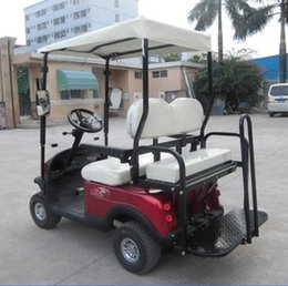 Wholesale CE Golf cart Round of storage battery Two seats walking electric car instead of walking golf ball car