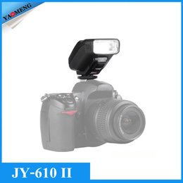 Wholesale New Viltrox JY II Univeral On camera Mini Flash Speedlite for Nikon D3300 D5300 D7100 Canon D Mark II III DSLR Cameras