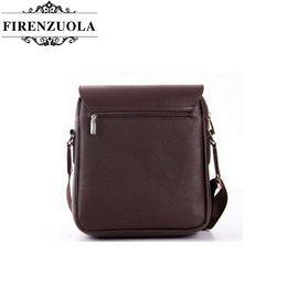 Firenzuola New Men Messenger Bag Business Men's Leather Casual Shoulder Bag #1451 bags r