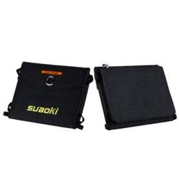 Suaoki 16W Folding Складная панель солнечных батарей зарядное устройство портативный солнечный банк питания для смарт-телефона аккумулятор двойной выход Водонепроницаемый от Производители панель раз