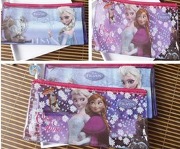 new cartoon new cartoon frozen princess thicken pencil cases pencil bags for kid school supplies kid gift