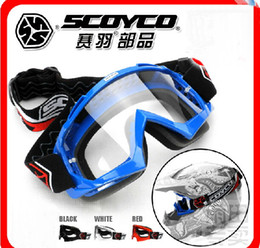 FASHION SCOYCO motocross helmet goggles ski goggles motorcycle riding goggles windproof dustproof G-02 have 4 kinds of colors