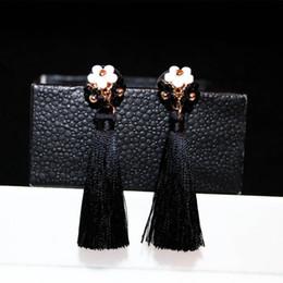 Wholesale Chandelier Thread - Thread long tassel earrings vintage tassel earrings for women 2016 new style chandeliers earrings dangle earrings