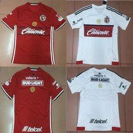 Wholesale Soccer Jersey Xolos de Tijuana Liga MX Club Short Sleeve Home Red Away White Camiseta de Futbol Manga Corta