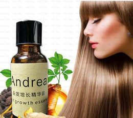 Wholesale Andrea Hair Growth Essence Hair Loss Liquid ml Dense Hair Fast Sunburst Hair Growth Grow Restoration Pilatory DHL LLFA701
