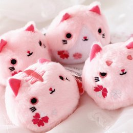 Wholesale Hot Sale quot Pink Neko Atsume Cat Backyard Cat Meow Collection Dango Mochi Plush Doll