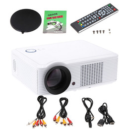 Wholesale Excelvan LED33 Lumens Projector BEST HD Home Theater Multimedia LCD LED Projector AV VGA HDMI USB TV Input