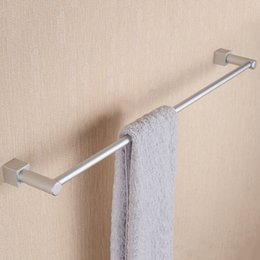 Wholesale Hot Sales Space Aluminium Bathroom Holder Towel Rack Towel Holder Bath Products Bathroom Accessories Towel Bars JI0166