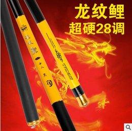 Compra Online Carbono especial-Caña de pescar Fabricante de la oferta especial Alto carbón Super ligero superhard 28 programación 6.3 m Día largo Taiwán barra de pesca Artes de pesca