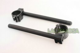 Wholesale Universal mm Clip Ons Fork Handle Bars handlebars pair Black CNC M53896 bar service bar height table legs