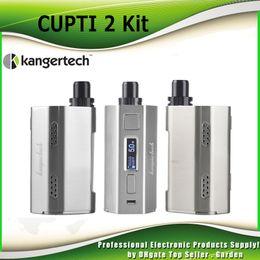 Wholesale Original Kanger CUPTI w Starter Kit Top Adjustable Airflow Valve ml atomizer Fit KangerTech CLOCC ohm Coil genuine