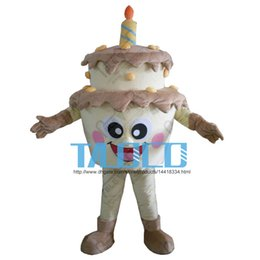 High Quality New Template Cake Adult Mascot Costume For Festival Birthday Party