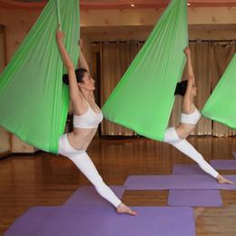Wholesale High Strength Hammock Yoga Swing Fitness Aerial Yoga Swing Anti gravity Yoga Hammock Swing Decompression Sling Equipment MD0032 salebags