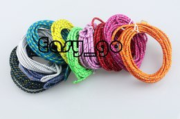 3ft 6ft 10ft Braided round Micro USB Date Sync Charging Cable for Samsung Galaxy S4 I9500 HTC LG Sony