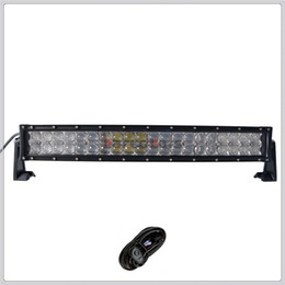 Wholesale 22 inch W D Curved CREE LED Work Light Bar for Tractor Boat OffRoad WD x4 Truck SUV ATV Spot Flood Combo Beam V v with Wiring Kit