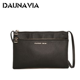 DAUNAVIA Envelope Bag Handbag Double Zipper Women's Designer Women's Messenger Bag Luxury Handbag Women's Bag Designer ND009