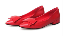 Us size:5-8.5 Women's flat shoes Spring Summer Casual Female Genuine Leather Solid Buckle Strap Vintage Elegant Fashion