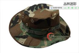 Promotion cap arrondi pour les hommes Corps Ben cap népalais soleil extérieur chapeau de pêcheur hommes et les femmes chapeau camouflage tactique casquette chapeau bords arrondis