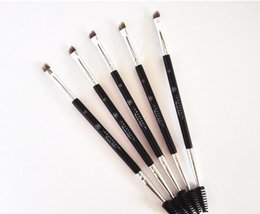 Wholesale ABH Anas Beverly Duo Brush Brush Large Synthetic Duo Brow Eyebrow Makeup Brushes Kit
