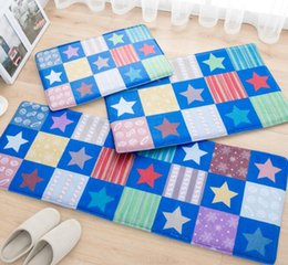 Wholesale Stars mat door strip absorbent pads non slip MATS bathroom bedroom bed cushion stain resistant machine washable rugs