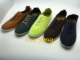 Wholesale 2016 New Arrived Performance Man casual for Spring Fall breathable low top walking Lace Up lightweight Stick design Special outsole