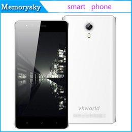 Wholesale VKWORLD F1 MTK6580 Quad Core Unlocked Phones Android G Smart Phone Inch G RAM G ROM HOT Selling