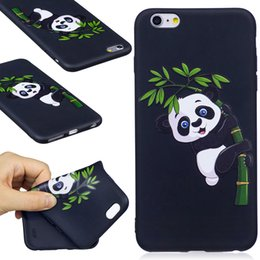 Anti-knock For iPhone 5S 5 6 6S 7 Plus phone case--3D Colorful Cute Cartoon Pattern Printing Cover