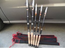 Wholesale 1111 Sale Apache telescopic carbon fishing rods Navigators m carp fishing pole Spinning Rods bamboo Handle Sections