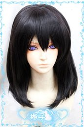 Wholesale 100 Brand New High Quality Fashion Picture full lace wigs gt gt Strike The Blood Himeragi Yukina cm Black Cosplay Fashion Wig