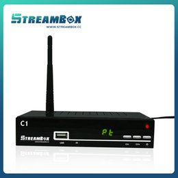 Wholesale 11 Singapore Starhub cable receiver streambox c1 HDSet top box DVB T2 MPEG4 H TV BOX Player account included