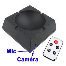 Mini DV Ashtray Smoke Video Camera with remote control
