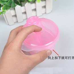 Wholesale Free EMS Portable Baby Milk Powder Formula Dispenser Container Storage Feeding Box Case Color Infant Feeding Supplies Seals168