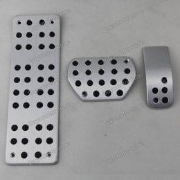 Wholesale Aluminum Foot Rest Pedals Clutch Gas Fuel Brake pedal Automatic For Peugeot307 C Quatre Hatchback AT