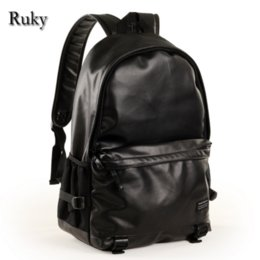 Wholesale High quality brand name Men Casual Backpacks New Fashion High Grade PU Leather Designer Laptop Men Schoolbag Travel Bag