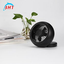 Wholesale Ultra quiet Cooling Fan Portable Mini USB Electric Fan Summer Home Appliances Cooler Fan Air Conditioning Fan Computer Desk Home