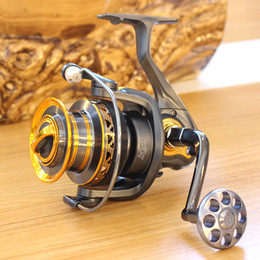Wholesale Long Range Attack Fishing Reels Bevel Angle Metal Wire Cup Competition Casting Distant Wheel Gapless Ocean Rod