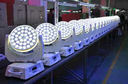 Free shipping High quality 36x10W RGBW 4 in 1 LED Zoom Moving Head Light Quad LED Wash Moving Heads
