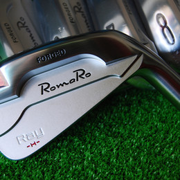 Hot sale New mens Golf Heads RomaRo Ray H Forged Golf irons Heads 4-9P Irons Golf clubs heads no shaft Free shipping