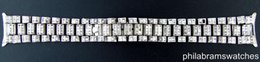 Wholesale Aftermarket k White Gold Diamond Italian Made Bracelet for Rolex President