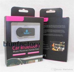 Mains libres sans fil Audio voiture Bluetooth Music Receiver Adaptateur 3.5mm Aux Connect EDUP V3.0 transmetteur multimédia pour Android IOS Universal à partir de bluetooth edup fabricateur