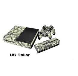Etiquetas engomadas protectoras de la piel de la etiqueta del vinilo 1Set para la consola de Xbox + etiquetas engomadas 2PCS para los juegos de los reguladores de Xbox uno + la piel XB21 de Kinect desde controlador de xbox kinect fabricantes