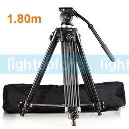 Wholesale photo studio Pro Video Camera Tripod Fluid Pan Head EI717 EI m ft PTT4C High quality